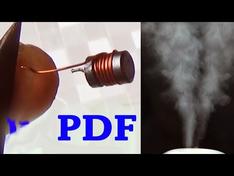diy ultrasonic humidifier circuit PDF, homemade evaporative air cooler