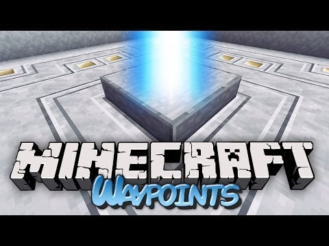 Waypoint Teleportation in Minecraft! - Waypoints Mod Showcase