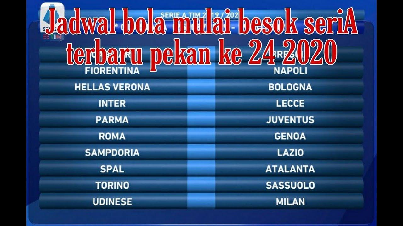 Jadwal pertandingan sepak Bola Liga Italy Seri A Terbaru ...