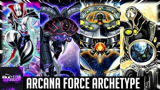 Yugioh Trivia: The Arcana Force Archetype