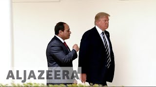 US to withhold $290m in aid to Egypt over human rights abuses