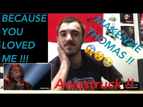 """MaKenzie Thomas Performs """"Because You Loved Me"""" - The Voice 2018 Live Top 10 - Reaction Video Mp3"""