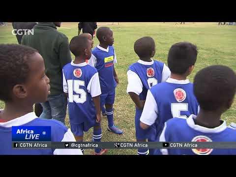 Johannesburg school holds mini World Cup ahead of Russia