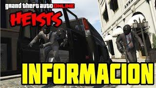 INFORMACION INCREIBLE!!    DLC HEISTS    GTA ONLINE 1.20