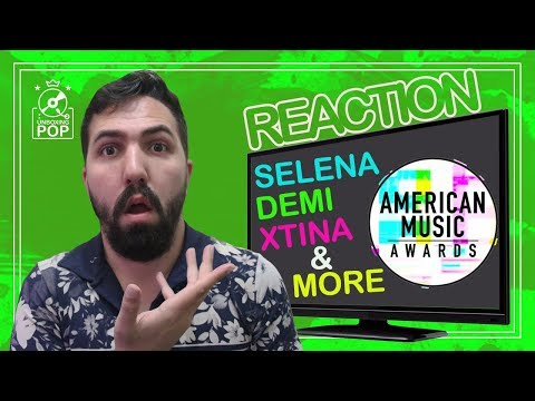 Reaction AMAs 2017    Demi Lovato, Selena Gomez, Christina Aguilera, Kelly Clarkson e Muito Mais