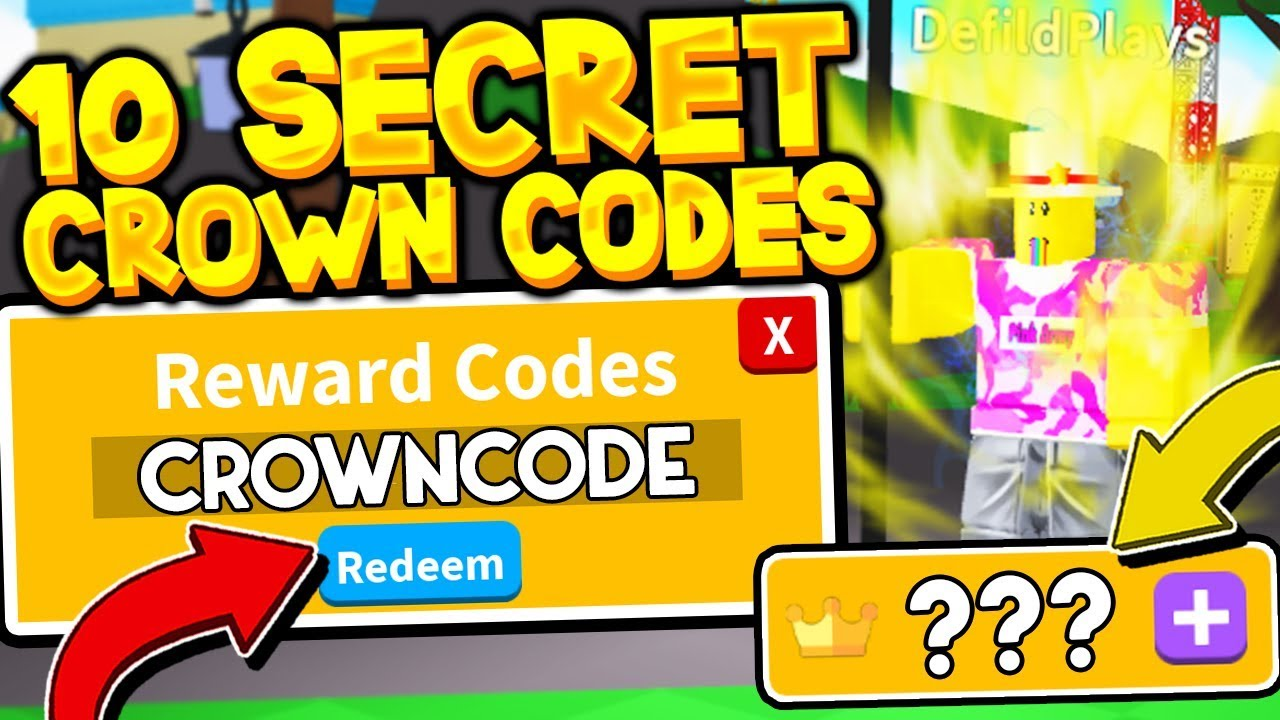 All 10 Secret Crown And Strength Codes In Saber Simulator Roblox