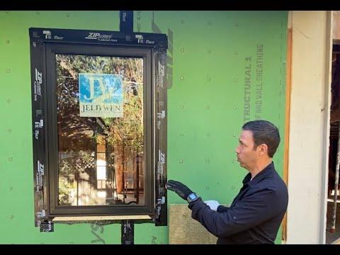 Window Install & Flashing - Jeld Wen In Zip System