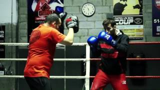 Equipe Canadienne Olympique de Boxe : Dernier entrainement a Montreal