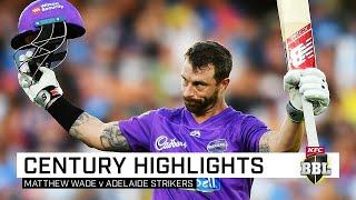 Wonder Wade annihilates Strikers in maiden BBL ton