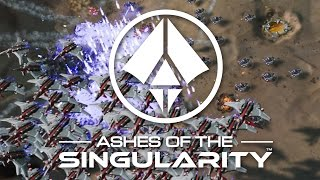 Ashes Of The Singularity - How to Defeat 4 INSANE AIs