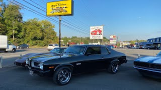 Test Drive 1974 Pontiac Ventura GTO $19,900 Maple Motors #1286