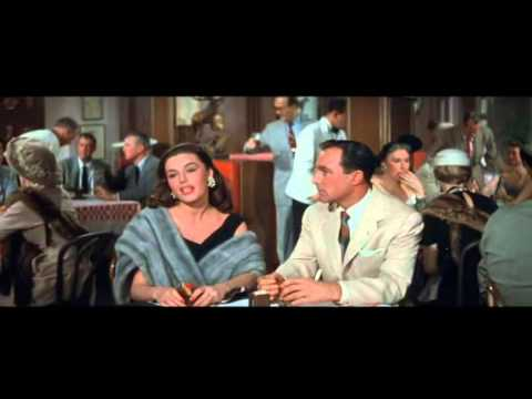 Brigadoon, Gene Kelly breaks up with girl in busy resturant