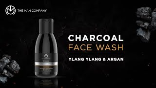 Charcoal Face Wash for Men I Skin Brightening Face Wash I The Man Company