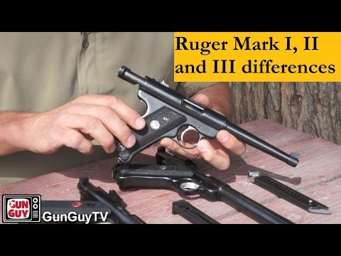 Ruger Mark I vs Mark II vs Mark III are the differences?