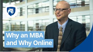 Gambar cover Why an MBA and Why Online