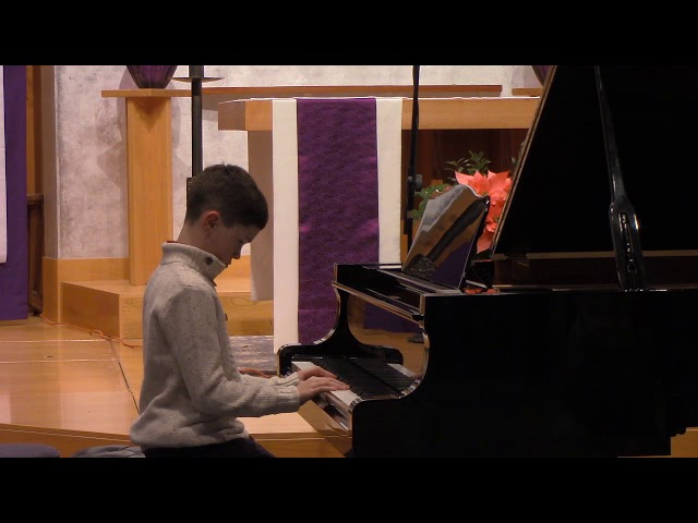 11 Reinagle, Allegro in C Major