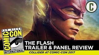 Flash S4 Trailer and Panel Review - Comic-Con SDCC 2017