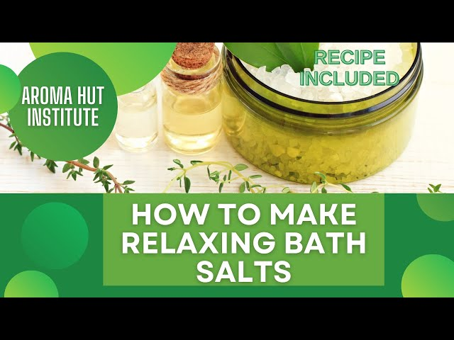 Relaxing Bath Salts | Anxiety and Stress Relief | Essential Oils