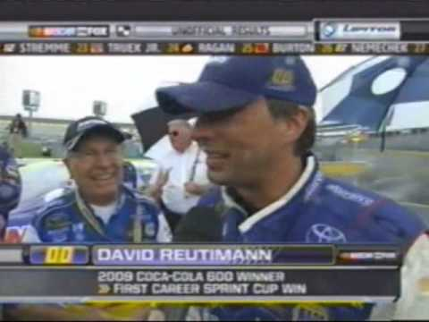 2009 Coca Cola 600 Part 17 Of Who Da Man Reutimann