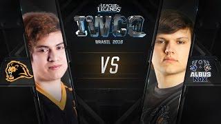 IWCQ Brasil - Eliminatoria #2 - Lyon Gaming vs Albux NoX Luna