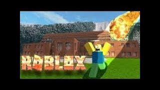 SURVIVRE TO NATURAL CATASTROPHES IN ROBLOX!
