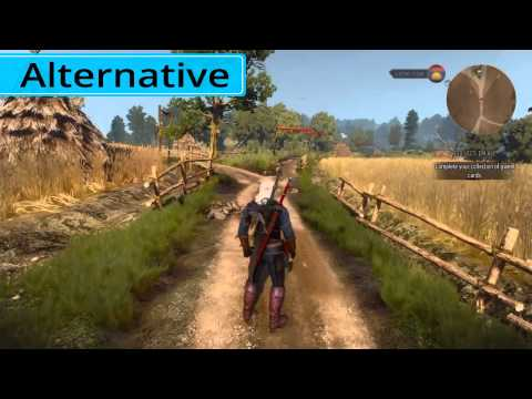Witcher 3 Update 1.07 Alternative Movement Detailed Comparison