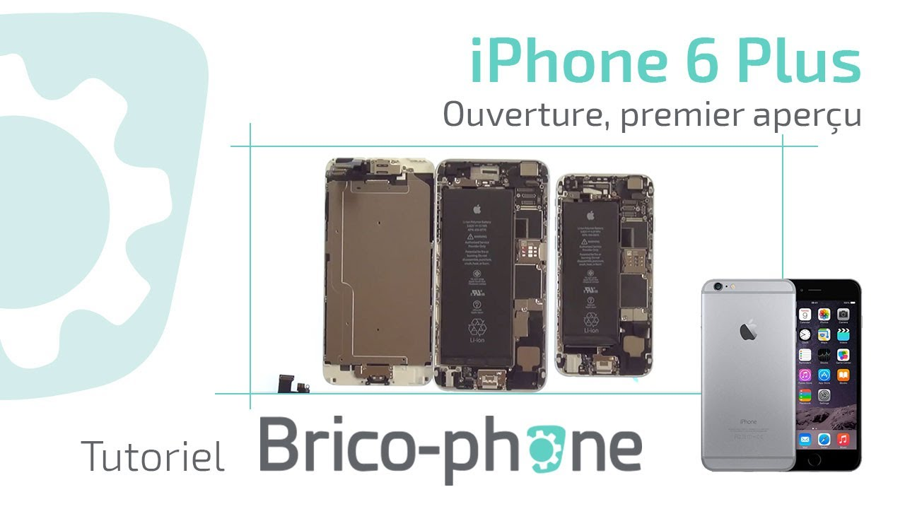 Demontage Iphone  Plus