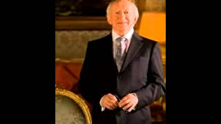 President of Ireland Michael D Higgins