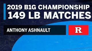 Path to the 149 LB Title: Every Anthony Ashnault Match at the 2019 B1G Wrestling Championships