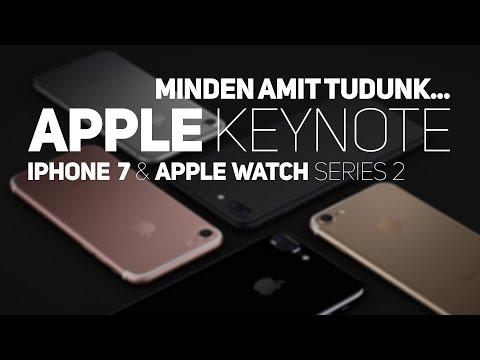 Minden amit tudunk az iPhone 7-ről és az Apple Watch-ról