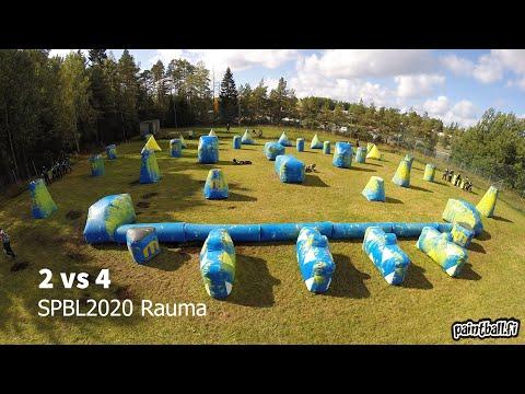 2 vs 4 - SPBL2020 Rauma