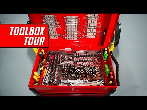 Racing Team Tool Box Tour - With Specialty Tools