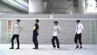 もうすぐ夏なので男4人でスマイレージの「夢見る 15歳」を頑張って踊ってみました 最初の立ち位置左から 小川紗季:れったろ Tw @ra_ri_ru_rhett 前田憂佳:びっきー Tw ...