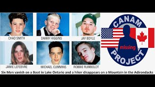 Missing 411- Six young men disappear on a boat and a man vanishes while hiking in the Adirondacks.