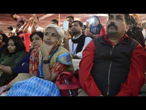 राम मंदिर, Yogi और RSS पर खुलकर बोले  Kanhaiya Kumar - Bhopal Janutsav, 26 Nov 2017