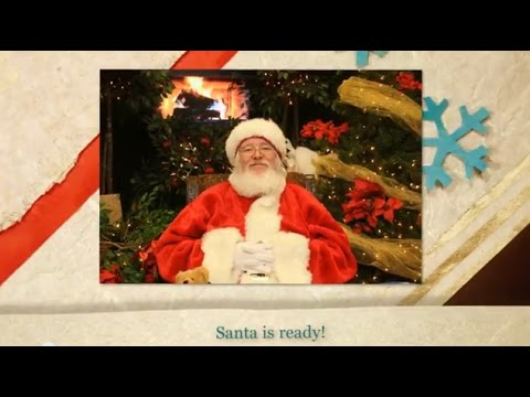 NWOSU Art Society Photos with Santa - Holiday Store for Kids 2014