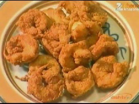 How To Make Fried Prawns | Simple And Easy Recipe | Sanjeev Kapoor | Khana Khazana