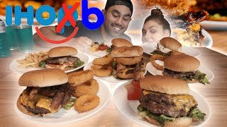 IHOB (International House of Burgers) EATING ALL THE BURGERS!!