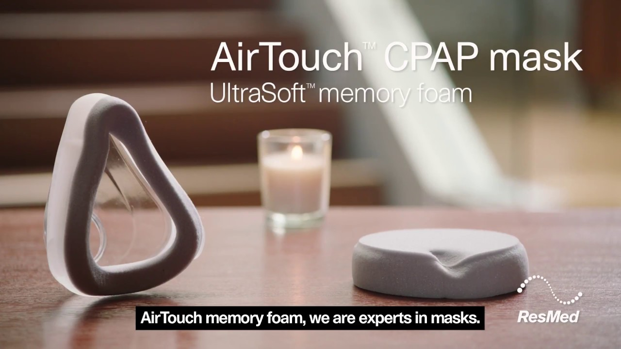 Introducing Airtouch F20 Our Memory Foam Cushion Mask