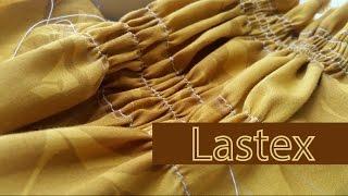 Como costurar com lastex (linha elástica)
