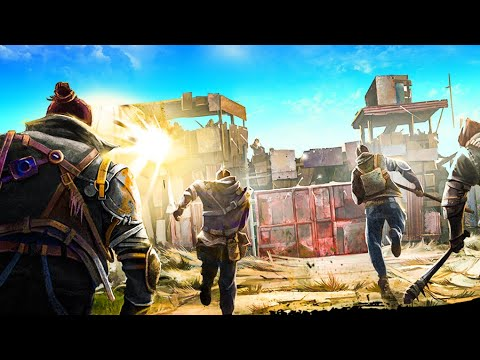 RAIDERS are attacking the WALL in this Post Apocalyptic Colony Survival - Surviving the Aftermath! |