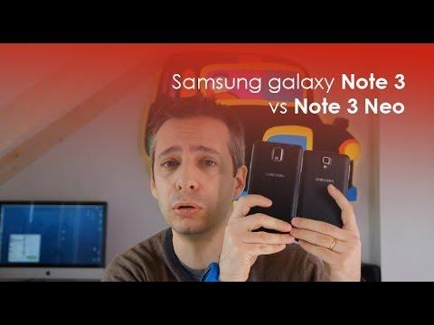 Samsung Galaxy Note 3 vs Note 3 Neo: il confronto di HDblog.it