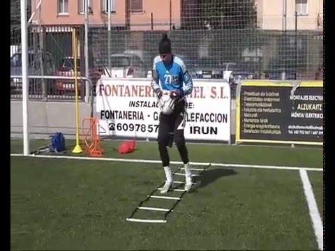 Ejercicios potencia piernas futbol