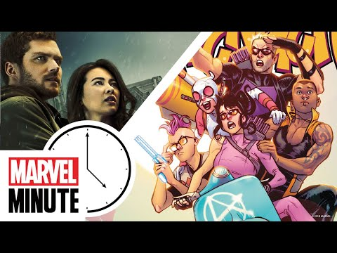 Marvel's Spider-Man! West Coast Avengers! Marvel's Iron Fist! | Marvel Minute