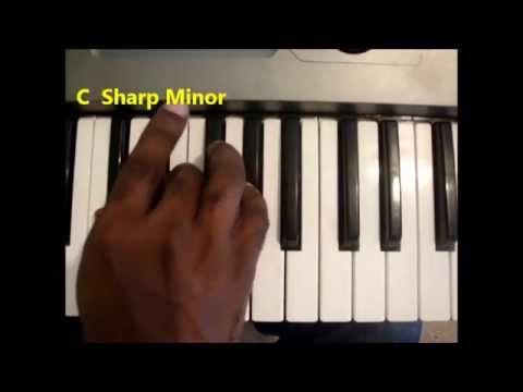 How To Play C Sharp Minor Chord C Min Cm Pianokeyboard Youtube