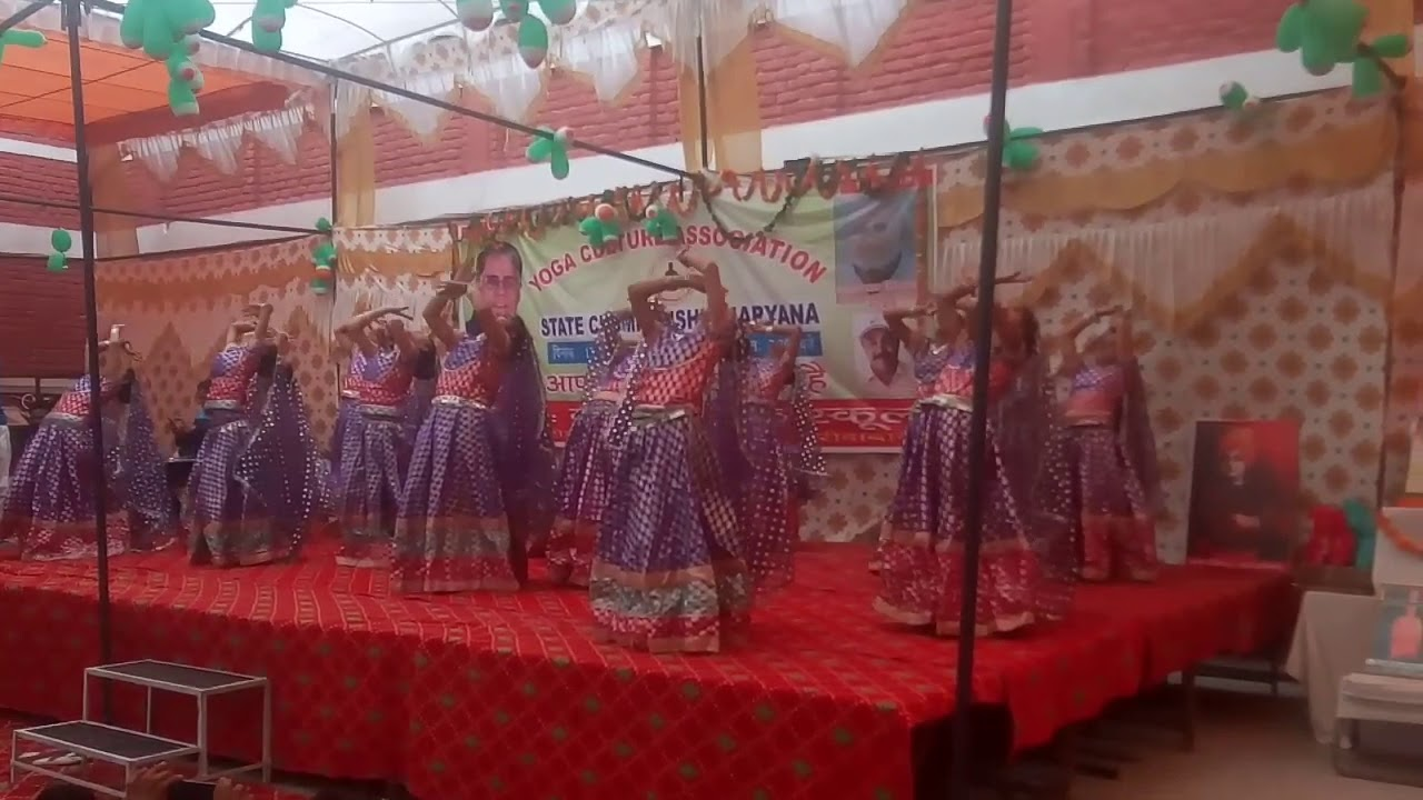Cultural program of geeta public school machhgar Faridabad