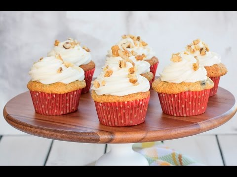 Banana Cupcakes with Cream Cheese Frosting   Recipe