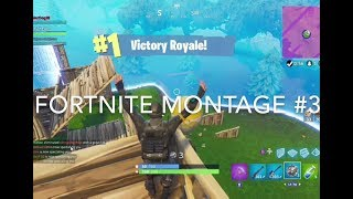 Fortnite Montage #3 (Music: Burn the House Down by AJR)