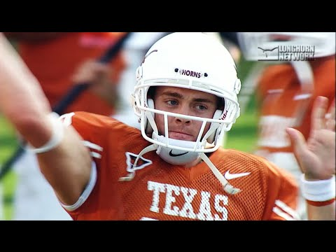 Colt McCoy's letter to the Texas Football Team [Sept. 15, 2016]