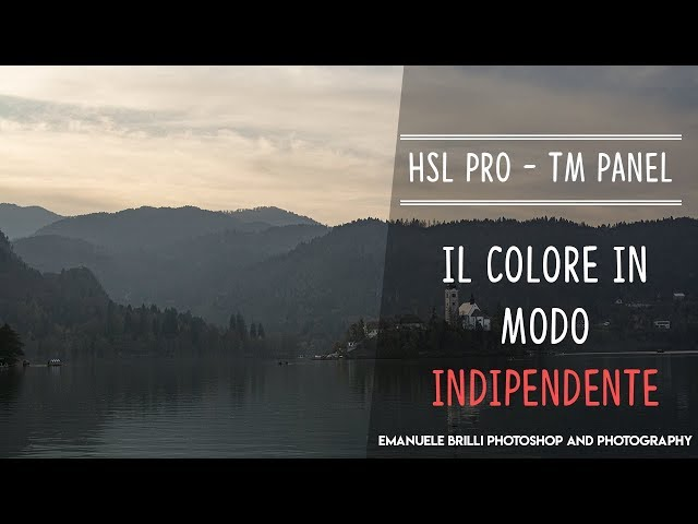 HSL PRO, come lavorare col colore in modo INDIPENDENTE - Photoshop Tutorial
